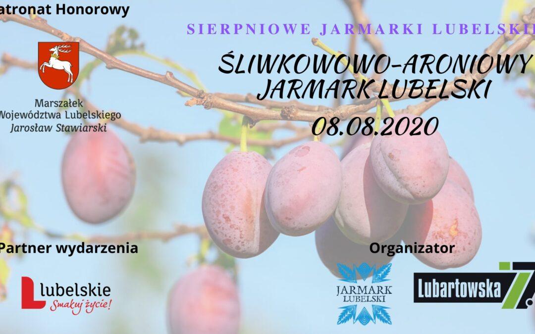 SIERPniowy Jarmark śliwkowo – aroniowy 08.08.2020