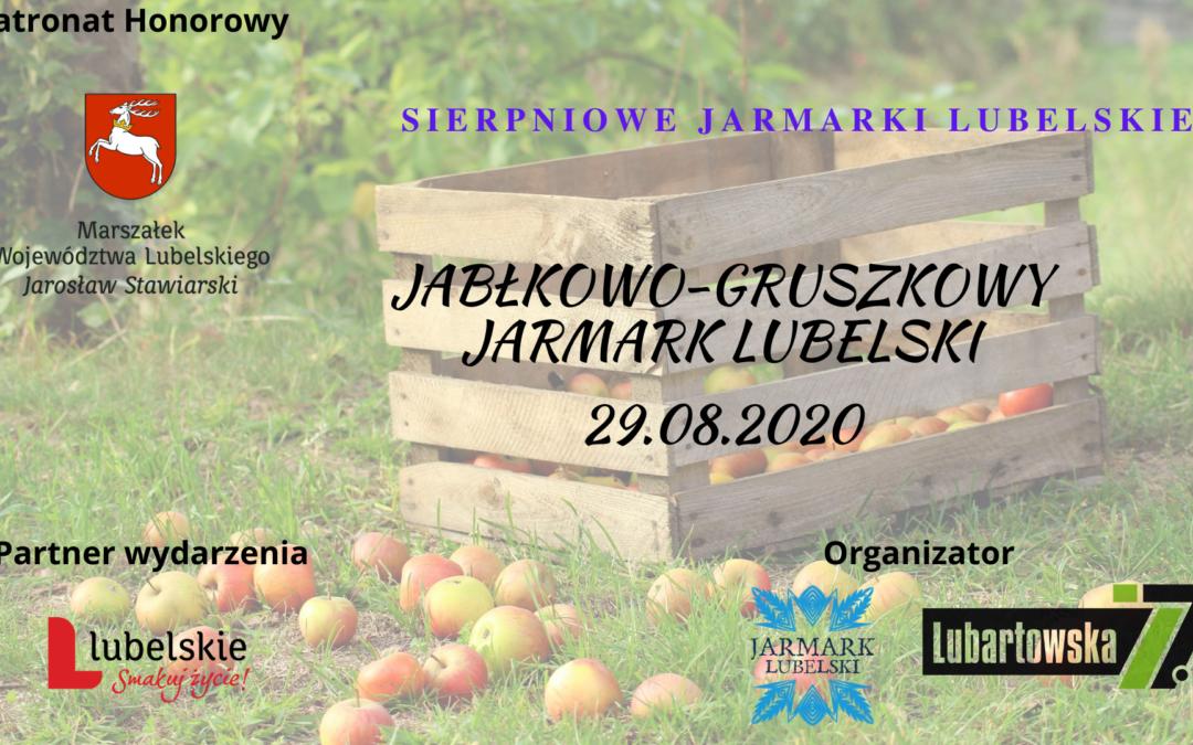 SIERPniowy Jarmark – Jabłkowo-Gruszkowy 29.08.2020