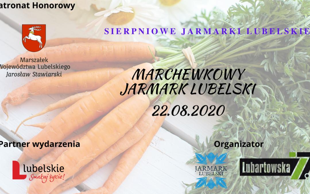 SIERPniowe Jarmarki – Jarmark Marchewkowy 22.08.2020