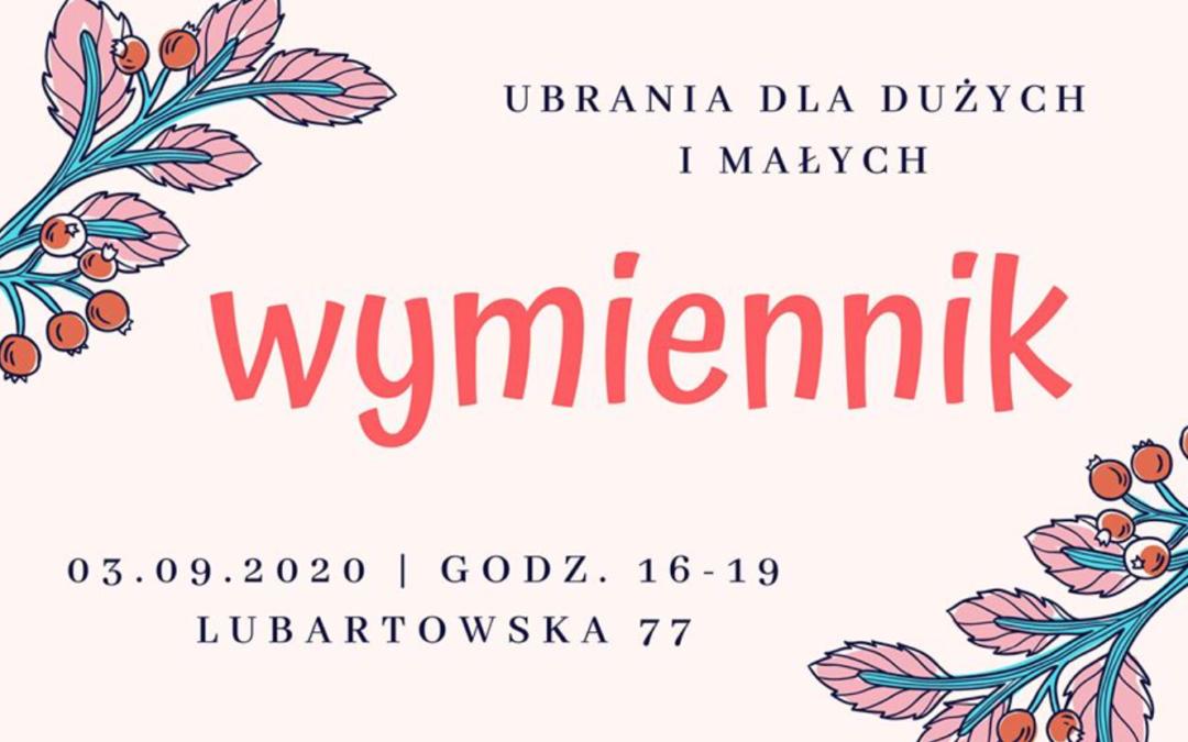 Wymiennik na Lubartowskiej! 03.09.2020